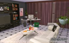 """from the lot """"Exo Dorm"""""""