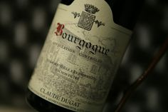 Bourgogne Pinot Noir 2011. Domaine Claude Dugat. Vin rouge de Bourgogne #pinot…
