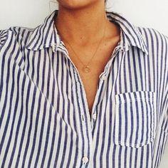 La chemise rayée <3