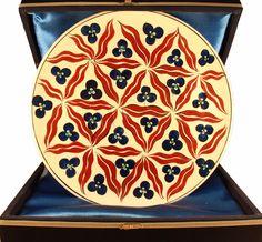 Iznik ceramic plates Free shipping Home Decor by NiceaCeramics