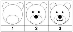 comment dessiner des ours Ours Paddington, Lilies Drawing, Bad Drawings, Petite Section, Classroom Crafts, Camping Crafts, Number Two, Preschool Art, Art Activities