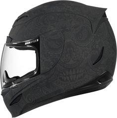 Airmada Chantilly - Black Rubatone | Products | Ride Icon | Pretty much my favorite helmet