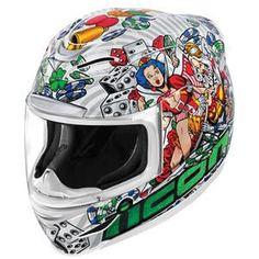 Icon Airmada Lucky Lid 2 Helmet - White