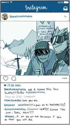 Haikyuu Instagram 2