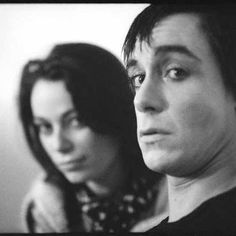 Iggy Pop and his muse Esther Friedman