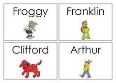 Keen On Kindergarten: Organizing My Classroom Library- book labels Library Book Labels, Classroom Library Labels, Classroom Ideas, Classroom Design, Library Signage, Classroom Libraries, Classroom Resources, Book Basket Labels, Book Bin Labels
