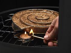 Kaltrauchgenerator Set von Barbecook (Räucherschnecke / Sparbrand)