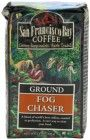 San Francisco Bay Coffee Ground Fog Chaser Coffee, 12-Ounce Bags (Pack of 3)