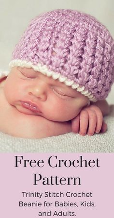 Free Crochet Patterns - This cute crochet hat pattern is now a free crochet pattern on Posh Patterns Blog!