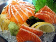 The freshest sashimi, with the spotlight on Norwegian salmon trout at Mikan in Damansara Perdana, KL.