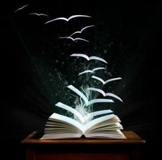 When I am reading...I can't help from re-writing all the while, and pages start to soar with fresh perspectives and a new story is mine...with every page.