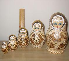 Удивительные русские Матрешки. | Оригинальное творчество талантливых и увлеченных людей
