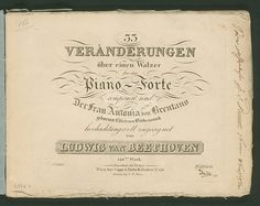 Digital archives of the Beethoven-Haus Bonn