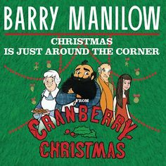 Cover art Barry Manilow Christmas record