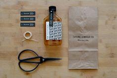 Tavern VinegarCompany - The Dieline -