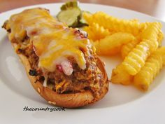 The Country Cook: Meatloaf Melts  http://www.thecountrycook.net/2012/02/meatloaf-melts.html