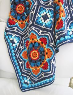 knit & crochet design: Persian Tiles
