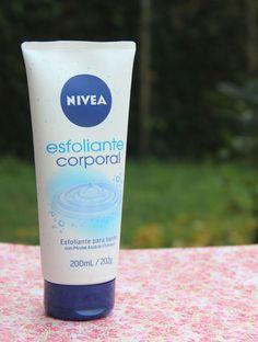 Esfoliante corporal Nivea: para usar no banho