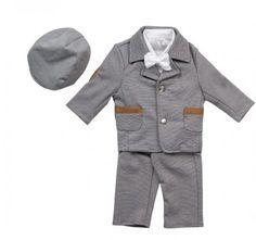 bimaro baby jungen babyanzug david taufanzug festlich blau wei feincord strickjacke hemd taufe. Black Bedroom Furniture Sets. Home Design Ideas