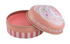 Etude House Sweet Recipe All Over Color Peach Sugar Cake. This all over color can be used as a blush, eyeshadow or a lipbalm.