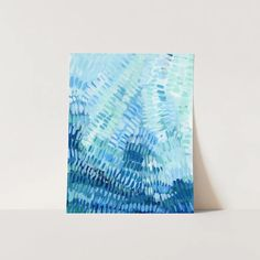 Under the Tropical Sea Caribbean Painting Wall Art Print or Canvas – Jetty Home Ocean Underwater, Underwater Painting, Green Colour Palette, Beach Artwork, Coastal Wall Art, Triptych, Coastal Style, White Art, Tree Paintings