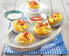 Das Rezept für Salami-Pizza-Muffins und weitere kostenlose Rezepte auf LECKER.de