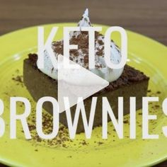 You simply have to try this flourless and nut free keto brownie. It has no added sugar, no coconut, no nuts and is simply the easiest thing to make, all using a stick blender!   ditchthecarbs.com