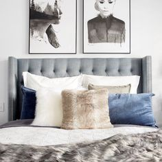Heatherly Design offers a simply stunning range of upholstered bedheads, fully upholstered beds, footstools and storage boxes for the discerning designer. Dream Bedroom, Master Bedroom, Bedroom Retreat, Custom Valances, Velvet Cushions, Bed Head, How To Make Bed, Design Consultant, Upholstered Chairs