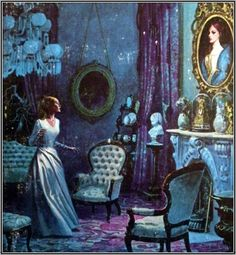Gothic Romance Book Cover.  I did my share of reading Gothic years ago.  Now I read about Young Love.  Funny  how things change lol