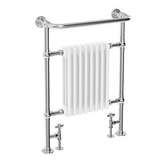 The Traditional Savoy Chrome Heated Towel Rail is the perfect heating solution for a traditional home. Features a column radiator design and beautiful steel tubing.