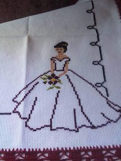 1 million+ Stunning Free Images to Use Anywhere Cross Stitch Rose, Cross Stitch Flowers, Cross Stitch Kits, Counted Cross Stitch Patterns, Cross Stitch Designs, Cross Stitch Embroidery, Hand Embroidery, Vintage Embroidery, Wedding Cross Stitch Patterns