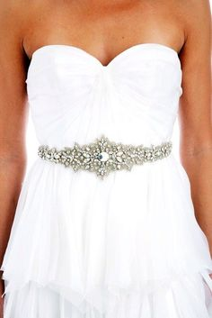 Check out LoveItSoMuch.com to discover unique products like 002 - Lux Collection - Beaded Applique Sash, satin belts bridal bridal ivory bridal crystal sash wedding belt bridal rhinestone belt.