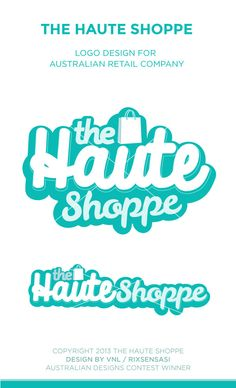 The Haute Shoppe - Australian Retail Company - Logo Design Winner