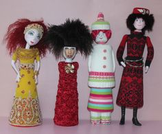 soft dolls with a twist by Joanne Cranston