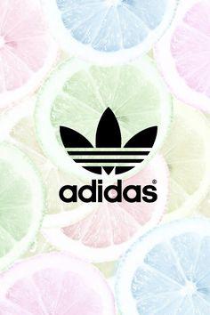 Fond d'écran Adidas citrons pastel ❤