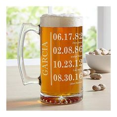 Oversized Beer Mug | Last Minute Gifts For Dad, Fathers