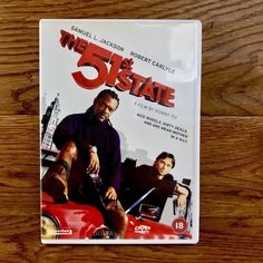 The State Dvd Samuel L Jackson Robert Carlyle comedy action Watched Once 51st State, Dvds For Sale, Robert Carlyle, Comedy, Jackson, Comedy Theater, Jackson Family, Comedy Movies