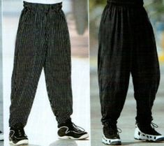 Clothing fads of the 90's. I so remember some of these! They look even worse to me now than they did then.