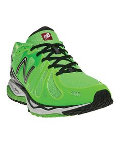 This New Balance Green & Black M890 Running Shoe - Men by New Balance is perfect! #zulilyfinds