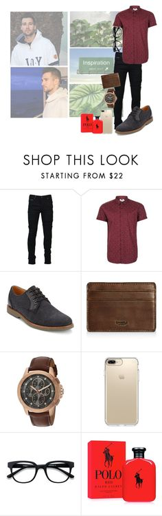 """""""Ootd // Brandon"""" by imperfectly-perfect-anons ❤ liked on Polyvore featuring Marcelo Burlon, Topman, G.H. Bass & Co., Shinola, Michael Kors, Speck, EyeBuyDirect.com, Polo Ralph Lauren, men's fashion and menswear"""