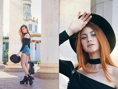 Get this look: http://lb.nu/look/8735433 More looks by Umbird Umbird: http://lb.nu/umbird Items in this look: Boots #retro #romantic #street #streetstyle #redhead #beauty #beautiful #lookbook #tattoo