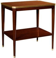 Austell Side Table with Wood Top from the Suzanne Kasler® collection by Hickory Chair Furniture Co.