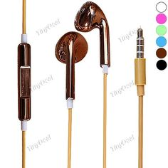 King Music Electroplating 3.5mm In-ear Stereo Metal Earphone Headset EEP-368381