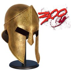 Spartan Helmet from the Movie 300: Rise of an Empire