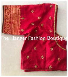 Silk Saree Blouse Designs, Fancy Blouse Designs, Mirror Work Blouse, Designer Blouse Patterns, Salwar Designs, Fashion Boutique, Maggam Works, Designer Jewellery, Traditional Fashion