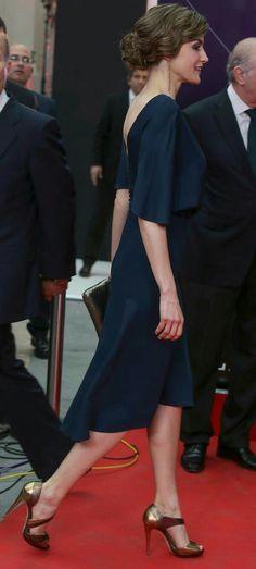 "Queen Letizia of Spain Photos - King Felipe VI of Spain and Queen Letizia of Spain attend ""Ortega Y Gasset"" journalism awards 2016 at Palacio de Cibeles on May 05, 2016 in Madrid, . - Spanish Royals Attend 'Ortega Y Gasset' Awards 2016"