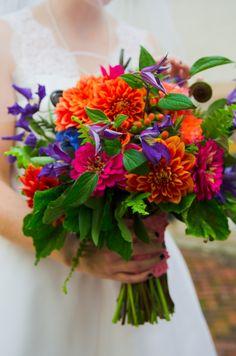 beautiful bright wedding bridal bouquet