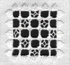 Hardanger Basics: Weaving Learn Hardanger embroidery with guides at Nordic Needle. #hardanger #stitching #howto #embroidery #needlework