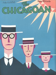 """""""Summer"""" by H. cover for The Chicagoan, July The Chicagoan was an American magazine modeled after the New Yorker published from June 1926 until April Focusing on the cultural life of the city of Chicago Magazine Art, Magazine Covers, Art Deco Posters, My Kind Of Town, Beautiful Cover, Old Magazines, Art Deco Era, The New Yorker, Art Deco Design"""