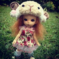 Lati yellow / Pukifee outfits dress and hat by nubanded on Etsy, $15.00